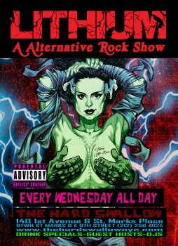 Our Alternative rock party kick back to the 90's with a mix of rock, metal, grunge, and alternate music.
